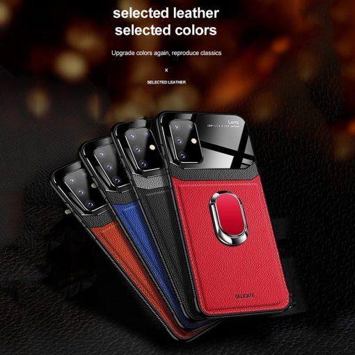 Samsung Galaxy S20 Leather Case