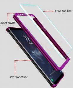 360 Degree Full Cover Shockproof for Samsung Galaxy S20 Ultra S10 Lite S9 S8 Plus Note 10 8 9 Case For Samsung S7 Edge Cases