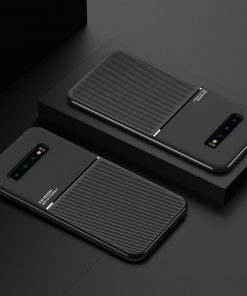 fashion Case For Samsung Galaxy S20 Ultra S8 S9 S10 Plus Lite Anti Fall Silicone phone Cover For Note 10 8 9 Frosted Stripe case
