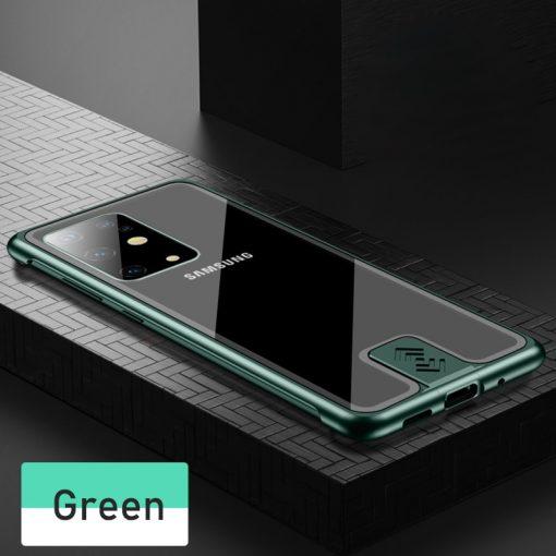 Samsung Galaxy S20 Metal Bumper Case